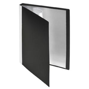 FolderSys Sichtbuch, A5, 20 Hüllen, PP, schwarz,...
