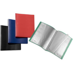 FolderSys Sichtbuch flexibel 50 Hüllen A4 PP farblos...