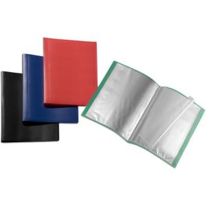 FolderSys Sichtbuch flexibel 50 Hüllen A4 PP blau...