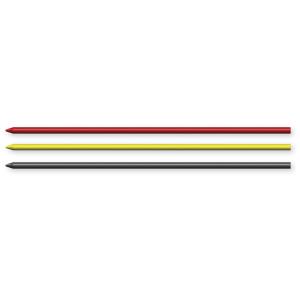 Pica Dry Ersatzminen - rot + gelb + schwarz - 8 Stück