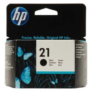 HP 21 Original Druckerpatrone - schwarz