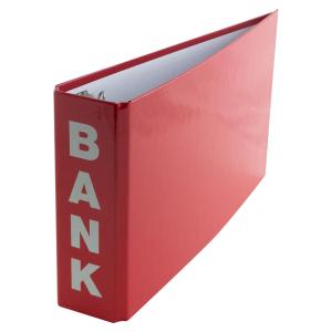Stylex Bankordner  - 1/3 DIN A4 - 4,5 cm - farbig sortiert