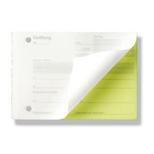 Stylex Quittungen - DIN A6 - 2x40 Blatt