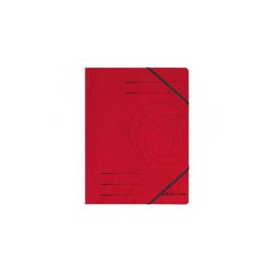 herlitz Eckspanner Quality - DIN A4 - rot