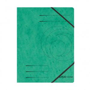 herlitz Eckspanner Quality - DIN A4 - grün