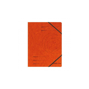 Herlitz Eckspanner A4 Colorspan orange