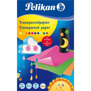 Pelikan Transparentpapier 232 - Mappe mit 10 Blatt - 10...