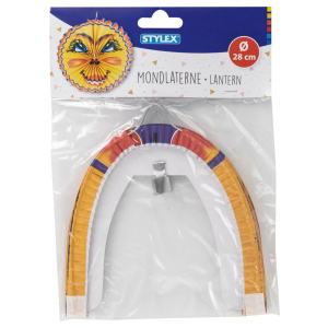 Stylex Lampion - Mondlaterne - Ø 28 cm