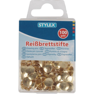 Stylex Reissbrettstifte - gold - 100er Schachtel
