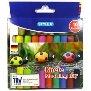 Stylex Knete - 10 Stangen - in Faltschachtel