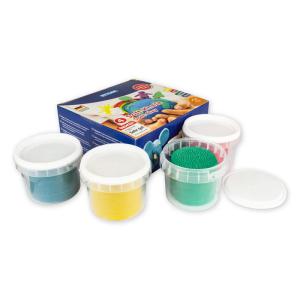 Stylex Soft-Knete - 4 x 100 g - 4 Farben
