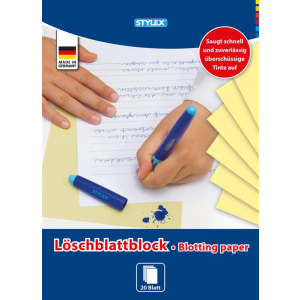 Stylex Löschblattblock - DIN A4 - 20 Blatt