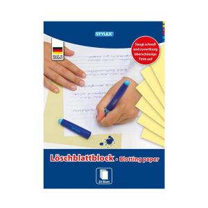 Stylex Löschblattblock - DIN A5 - 20 Blatt