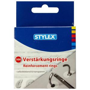 Stylex Verstärkungsringe - selbstklebend - 500...