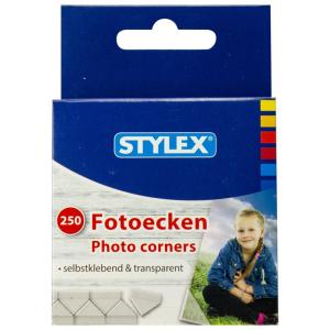 Stylex Fotoecken - selbstklebend - 250 Stück