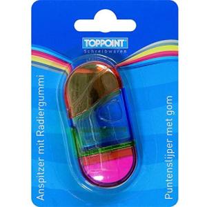 Stylex Spitzer & Radiergummi - farbig sortiert