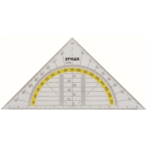 Stylex Geometriedreieck - 16 cm