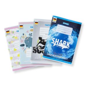 Stylex Das coole Hausaufgabenheft - DIN A5 - 48 Blatt