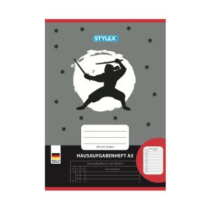 Stylex Hausaufgabenheft - DIN A5 - 48 Blatt