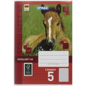 Stylex Heftumschlag - DIN A5 - PP - transparent