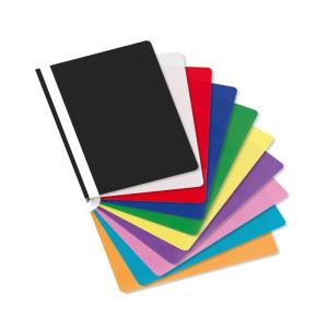 Stylex Schnellhefter - DIN A4 - PP - farbig sortiert - 25...