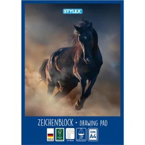 Stylex Zeichenblock - DIN A4 - 20 Blatt - 2 Motive sortiert