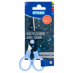 Stylex Design-Bastelschere - 13 cm - abgerundet - Design...