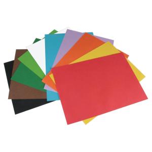 Stylex Tonzeichenpapier - DIN A4 - 10 Farben - 20 Blatt
