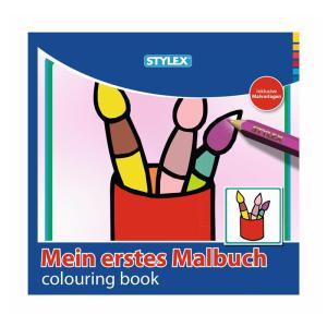 Stylex Malbuch - 15 x 15 cm - 192 Seiten - 2 Motive sortiert
