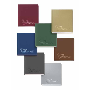 VELOFLEX Gästebuch - 205 x 240 mm - 144 Seiten - grau