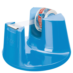 tesa Easy Cut Tischabroller Compact blau inkl. tesafilm...