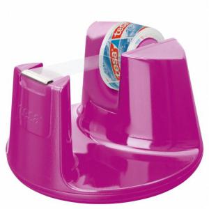 tesa Easy Cut Tischabroller Compact pink inkl. tesafilm...