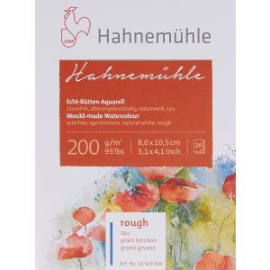 Hahnemühle Aquarellblock - 200 g/m² - rau - 8 x...