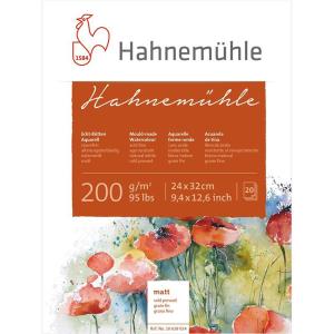 Hahnemühle Aquarellblock - 200 g/m² - matt - 24...