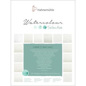 Hahnemühle Selection Auarellblock - 17 x 24 cm - 12...
