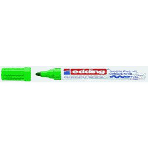 edding 4000 Mattlackmarker - Rundspitze - 4 mm - grün