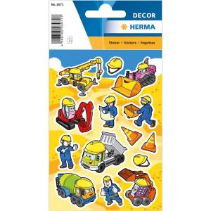 Herma 3071 DECOR Sticker - Baustelle - 42 Sticker