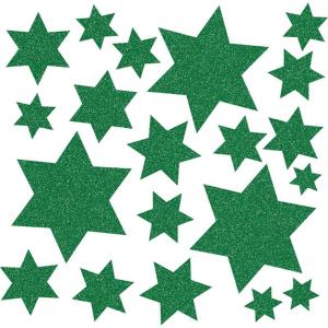 Herma 15067 Fensterbild - Sterne - grün