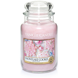 Yankee Candle Classic Large Jar Snowflake Cookie 623g