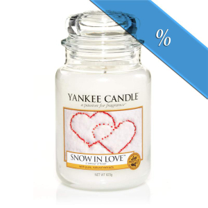 Yankee Candle Classic Large Jar Snow in Love 623g