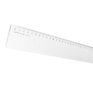 Aristo Lineal - 40cm glasklar - mm-Teilung