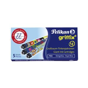 Pelikan Griffix Großraumpatrone - blau - 5 Stück