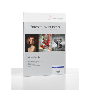 Hahnemühle Photo Rag 308 Deckle Edge, 308 g/m² A2,25Blat