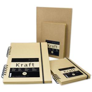 Hahnemühle Kraftpapier Skizzenbuch - 120 g/m² -...