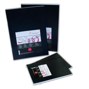 Hahnemühle Sketch Booklet Black - 140 g/m² -...
