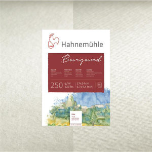 Hahnemühle Burgund Aquarellbogen - 250 g/m² -...