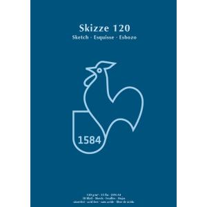 Hahnemühle Skizzenblock - 120 g/m² - DIN A4 -...
