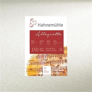 Hahnemühle Allegretto Aquarellblock - 150 g/m²...