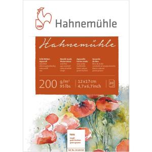 Hahnemühle Aquarellblock - 200 g/m² - rau - 12...
