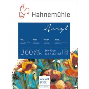 Hahnemühle Acrylmalblock - 360 g/m² - 30 x 40...